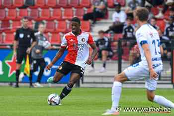 Le FC Bruges ralenti par le Feyenoord pour Tyrell Malacia - Walfoot.be