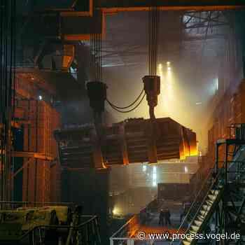 Schlacken aus der Stahlindustrie werden zu Ressource für Zement und Baustoffe - Process