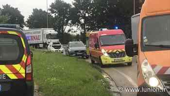 Deux véhicules accidentés dans la côte de Gravelines à Couvrot - L'Union