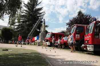 Les pompiers préparent le 14 Juillet - La Montagne
