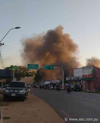 Incendio de mueblería genera daños materiales en Carapeguá - Nacionales - ABC Color