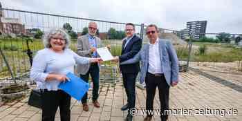 Im Herbst beginnt der Bau des neuen Herten-Forums mit Bodenarbeiten - Marler Zeitung