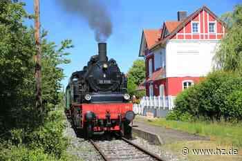 Dampfzug: Die Lokalbahn Amstetten-Gerstetten fährt ohne 3-G - Heidenheimer Zeitung
