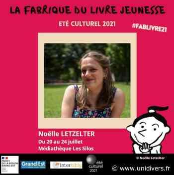 Noëlle Letzelter à la médiathèque Les Silos Médiathèque Les Silos mardi 20 juillet 2021 - Unidivers
