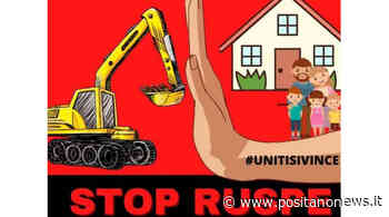 Afragola, l'Associazione Popolare Casa mia a Roma contro le demolizioni delle case uniche - Positanonews - Positanonews