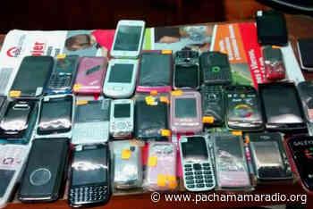 Policía desbarata a comercializadores de celulares en Ilave (El Collao) - Pachamama radio 850 AM