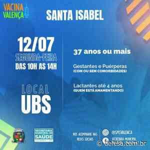 Vacinação Covid-19: Santa Isabel e Conservatória nesta segunda - Defesa - Agência de Notícias