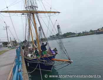 Lone tall ship returns to Port Colborne's dock - StCatharinesStandard.ca