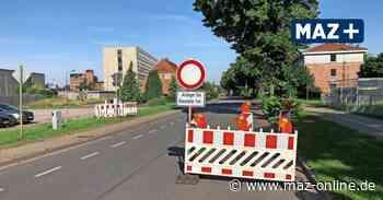 Straßenbau in Rheinsberger Straße in Wittstock - Märkische Allgemeine Zeitung