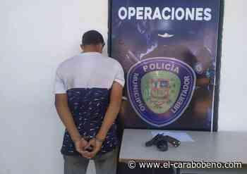 Detenido por presunto robo en la carretera vieja de Tocuyito - El Carabobeño