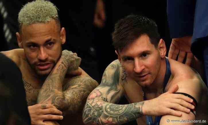 Neymar huldigte Messi nach Triumph bei Copa America - DER STANDARD