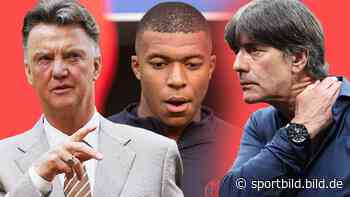 Löw, Neymar, Barca, Mbappé: Ex-Bayern-Trainer Louis van Gaal mit Rundumschlag - SportBILD