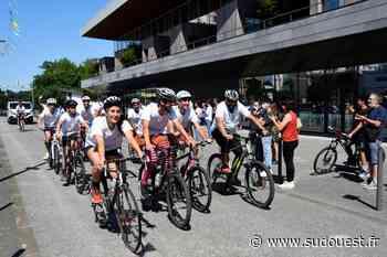 Mourenx : ces jeunes ont parcouru 207 km à vélo en cinq jours - Sud Ouest