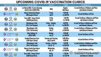 Autoridades de Corpus Christi siguen animando a la comunidad a vacunarse - NoticiasYa