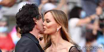 Adrien Brody and Georgina Chapman Share a Kiss at Premiere of His New Movie at Cannes - PEOPLE