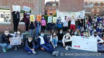 Bailleul : les élèves de l'Immaculée récoltent 13 000 € pour les enfants autistes - La Voix du Nord