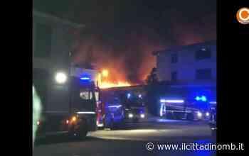 Incendio a Brugherio: i soccorsi al lavoro - Il Cittadino di Monza e Brianza