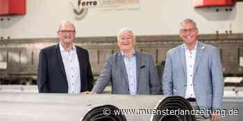 Unternehmen Ferro hat seit 25 Jahren Stahl im Blick | Stadtlohn - Münsterland Zeitung