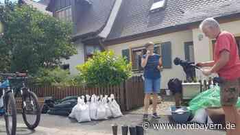 Nach dem Hochwasser: Ärmel hoch und aufräumen - Nordbayern.de