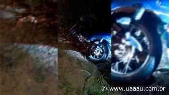 Moto furtada em Sombrio é recuperada pela polícia militar em Praia Grande - Uaaau