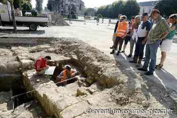 De nouvelles fouilles dans le centre de Soissons cet été - Courrier picard