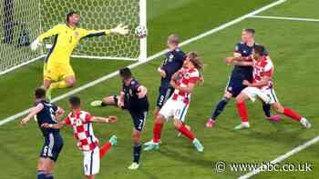 Euro 2020: Croatia 3-1 Scotland - Steve Clarke's side undone at Hampden - BBC Sport