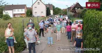 Bürgerinitiative Westhausen gegen Bauptojekt im Ortskern - Schwäbische