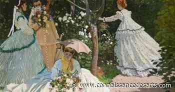 Musée d'Orsay : les Femmes au jardin de Monet retrouvent leurs couleurs   Connaissance des Arts - Connaissance des Arts