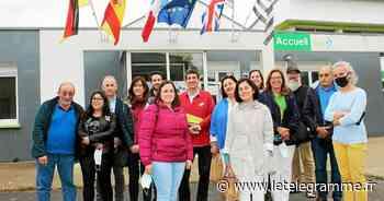 À Lesneven, des formateurs de Galice en visite à l'Iréo - Le Télégramme