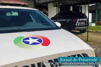 Condutor embriagado causa acidente e é detido, em Indaial - Jornal de Pomerode