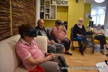 Rambouillet : quand les seniors testent la réalité virtuelle pour voyager et s'évader - Echo Républicain