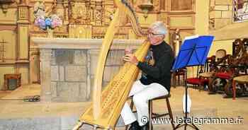 Lamballe-Armor : un beau concert de harpe celtique à l'église de Meslin - Le Télégramme