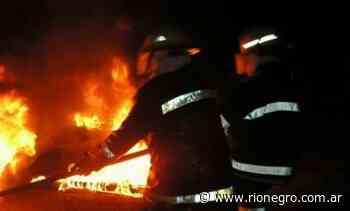 Un incendio consumió una vivienda en Cutral Co esta madrugada - Diario Río Negro
