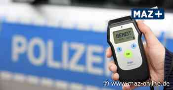 1,75 Promille: Polizei stoppt betrunkene Autofahrerin in Hennigsdorf - Märkische Allgemeine Zeitung