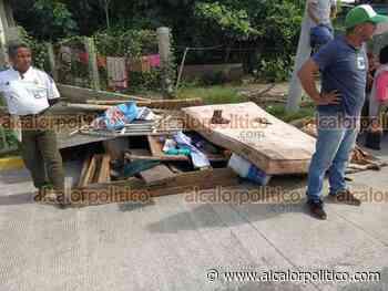 Desalojan a unas 10 familias de la parcela Las Galeras, en Martínez de la Torre - alcalorpolitico