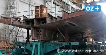 Kiellegung auf der Peene-Werft: Korvettenbau in Wolgast läuft nach Fahrplan - Ostsee Zeitung
