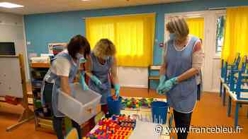 Dans les écoles de Barentin, le grand nettoyage de l'été - France Bleu