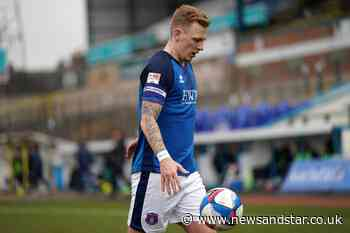 Callum Guy appointed Carlisle United's new captain as Aaron Hayden remains vice-captain | News and Star - News & Star