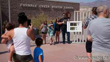 Kalifornien: Death Valley kratzt am Temperaturrekord - Hitzewelle in den USA - DER SPIEGEL