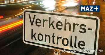 Verkehrskontrolle auf der A10 bei Birkenwerder: 42-jähriger ohne Führerschein unterwegs - Märkische Allgemeine Zeitung
