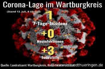 Corona-Lage im Wartburgkreis: Drei Todesfälle, keine Neuinfektionen - inSüdthüringen - inSüdthüringen