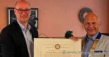 Dillenburg Rotary-Club Dillenburg mit neuen Präsidenten - Mittelhessen