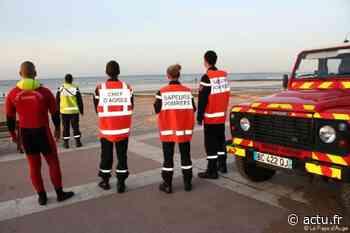 Isolées par la marée, deux personnes secourues en hélicoptère à Wimereux - actu.fr