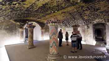 La crypte de la basilique de Boulogne-sur-Mer, un voyage dans les coulisses du temps - La Voix du Nord