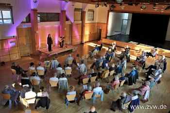 """Erstes Konzert in der Kultursäule Welzheim: """"Schön, wieder Applaus zu hören"""" - Welzheim - Zeitungsverlag Waiblingen - Zeitungsverlag Waiblingen"""