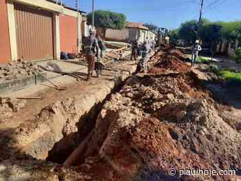Timon: avenida Luís Firmino e rua São João recebem obras de esgoto - Piauí Hoje