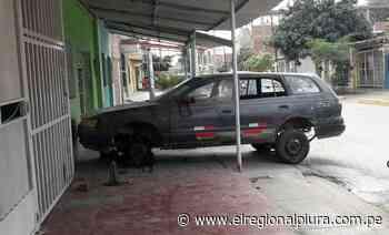 Sullana: notifican a propietarios de inmuebles de Bellavista por tener vehículos abandonados y estacionados en vía pública - El Regional