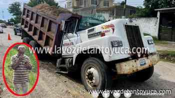 13/07/2021 Camión materialista se parte en dos, en Tantoyuca - La Voz De Tantoyuca