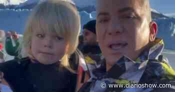 """Flavio Mendoza y su hijo disfrutaron en El Calafate: """"Es increíble, emocionante y único"""" - DiarioShow"""