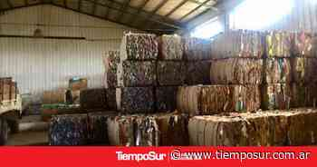 El Calafate vende 27 toneladas de cartón - TiempoSur Diario Digital
